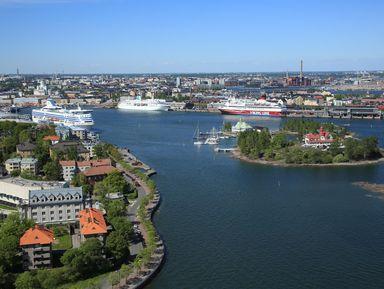 Знакомство с Хельсинки