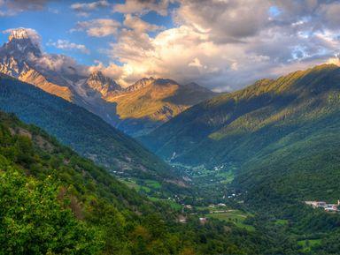 Открыть красоту природы западной Грузии