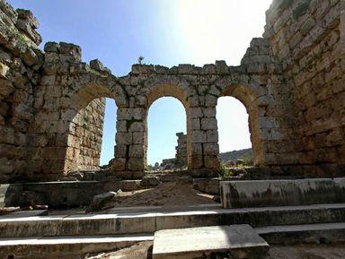 Из Алании — в Перге, Аспендос и Куршунлу