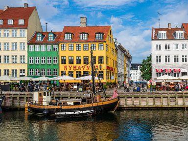 Классический Копенгаген на автомобиле
