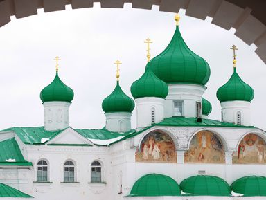 ИзПетербурга— вАлександро-Свирский монастырь