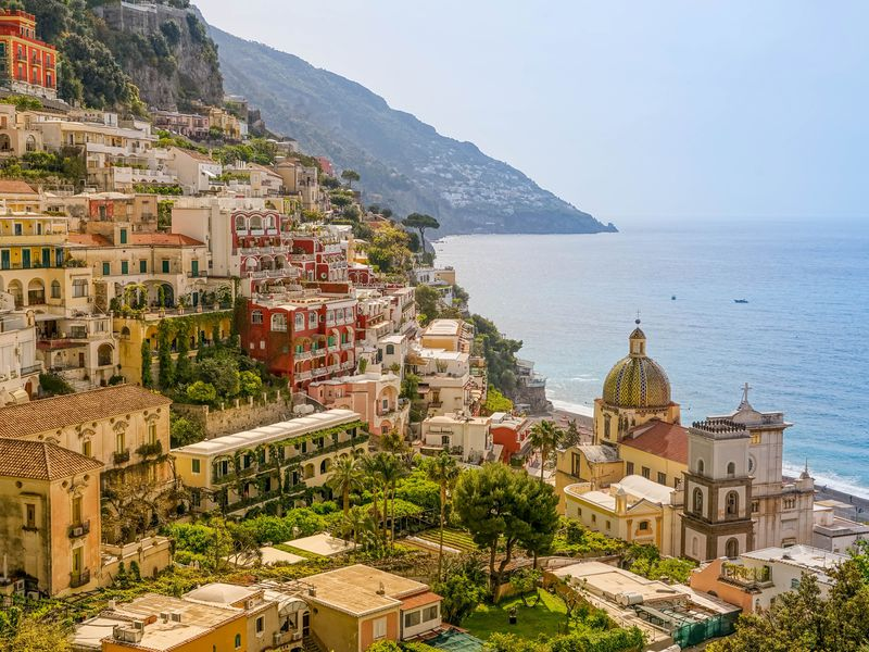 Позитано— итальянская открытка