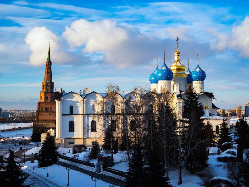 Групповая экскурсия по Казани с посещением кремля