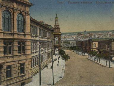 История Баку периода нефтяного бума