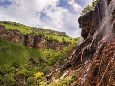 Плато Канжол, озера Шадхурей иводопад Гедмишх
