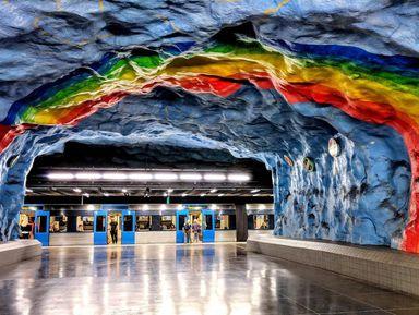 Экскурсия в Стокгольме: Мир подземного Стокгольма