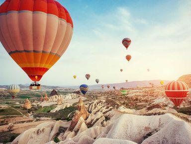 На воздушном шаре над Каппадокией!