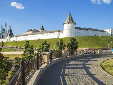 Казанский кремль: репортаж изпрошлого