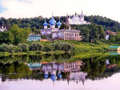 Гороховец— чудо-городок заповедной Руси