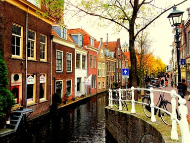Делфт, самый голландский из всех городов