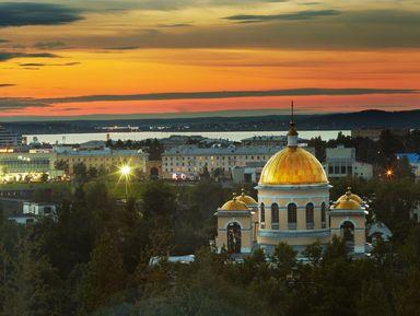 Прогулка по столице Карелии