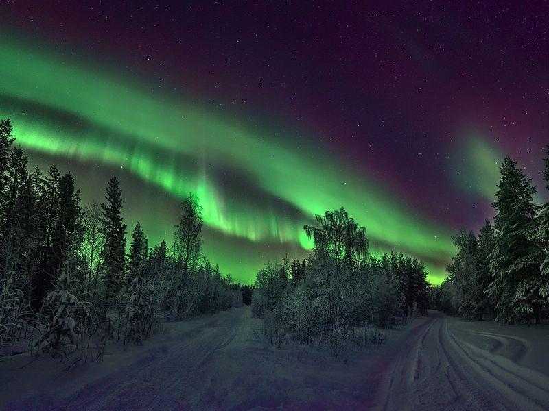 Фото-путешествие в поисках северного сияния! width=