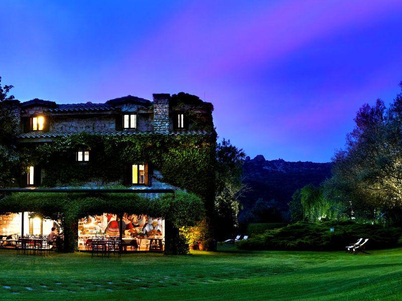 Романтический ужин в горах Сардинии