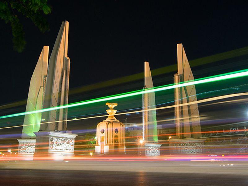 Вечерний Бангкок на тук-туке!