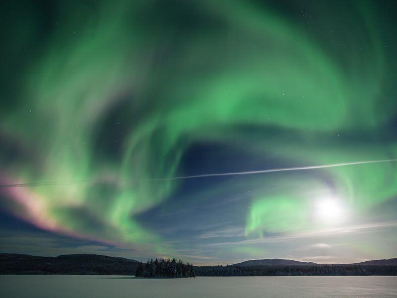 Северное сияние — путешествие в мир волшебства width=