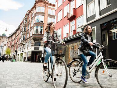 На велосипеде по Копенгагену