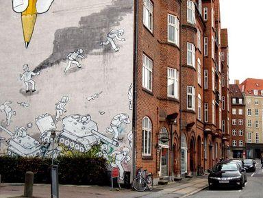 Стрит-арт в культурной столице Европы