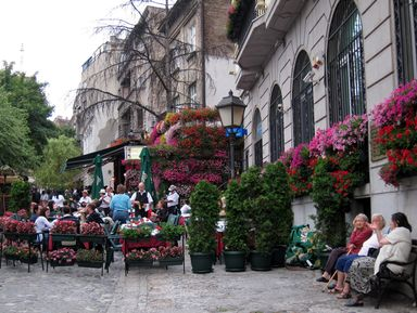 Первое знакомство с Белградом
