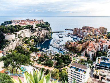 ИзНиццы— вкняжество Монако