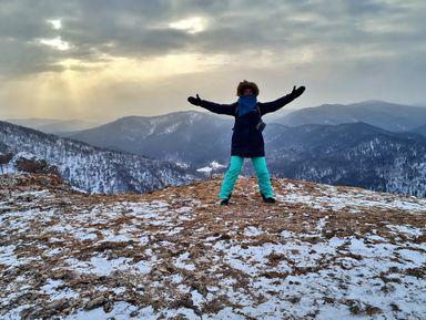 Панорамы Красноярска: горный трекинг