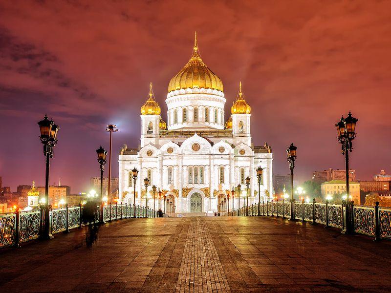 Обзорная вечерняя экскурсия по Москве