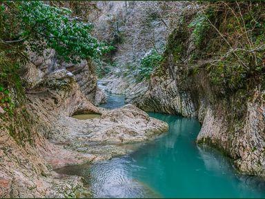 Дивное ущелье реки Хоста