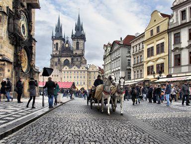 Здравствуй, красавица Прага!