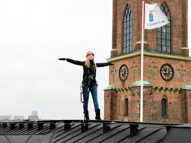Путешествие по крышам Стокгольма