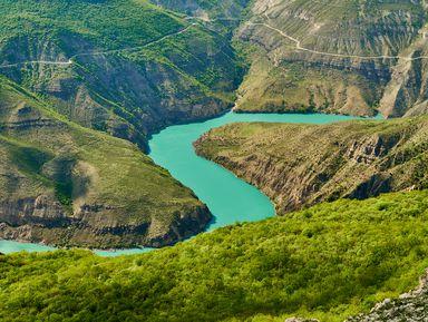 Сулакский каньон ибархан Сарыкум— сокровища Дагестана