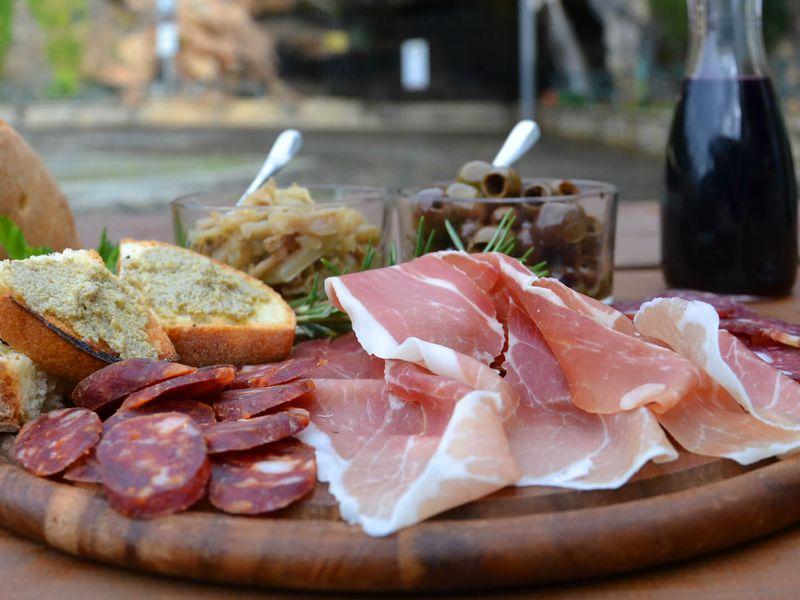 Экскурсия Вкусы Тосканы: прошутто, джелато и средневековый фастфуд