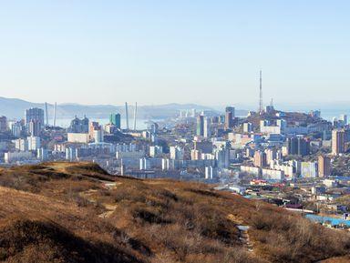 5 сопок Владивостока на внедорожнике