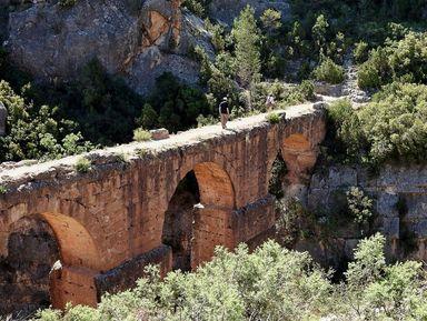 Римский акведук и прогулка среди скал