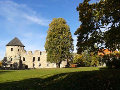 Ливонская Швейцария и замок Венден