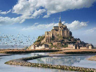 Очарование Нормандии: Мон-Сен-Мишель, Сен-Ло иБайё