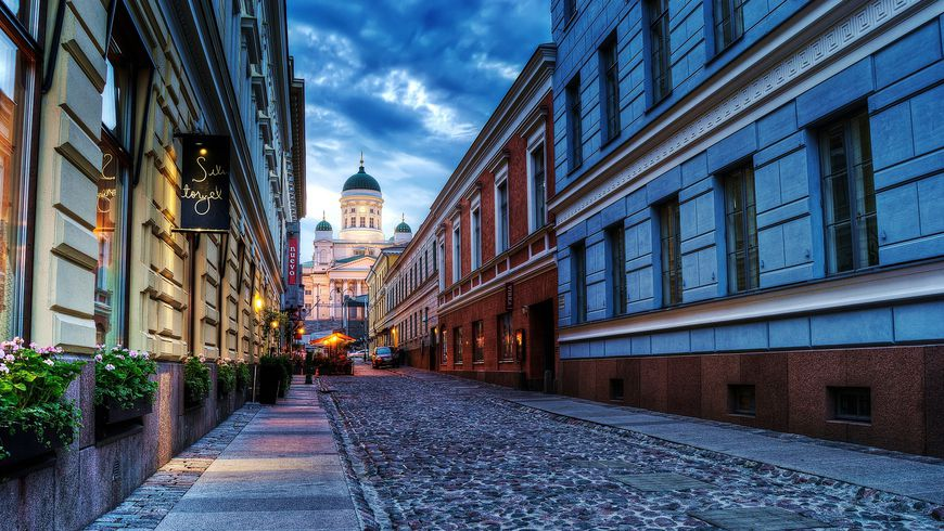 Вечерний Хельсинки