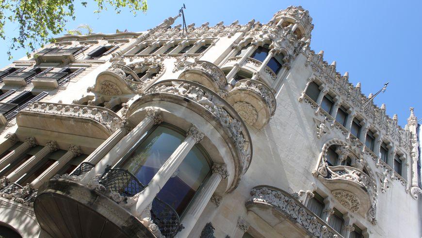 Территория каталонского модерна