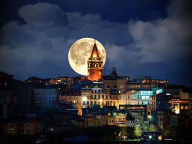 По ночному Стамбулу на автомобиле!