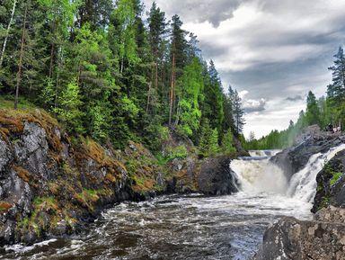 «Поет Кивач вбору сосновом»: путешествие кглавному водопаду Карелии