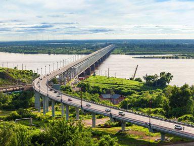 Хабаровск— город большой реки