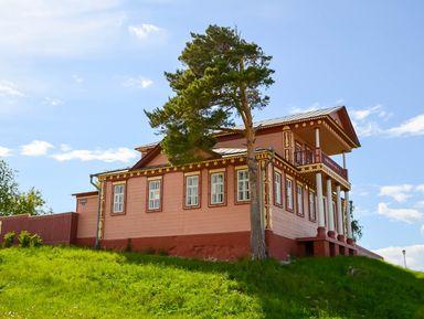 Татарская этнодеревня ирусский Свияжск