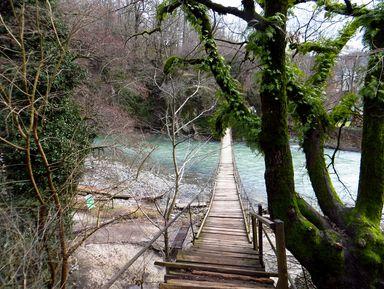 Ахштырское ущелье и Дзыхринский водопад