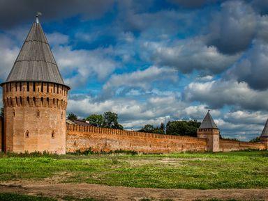 38 башен Смоленска — «ожерелье всея Руси»
