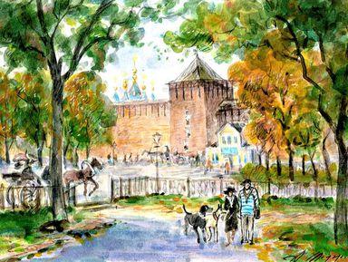 Сказки Коломенского кремля