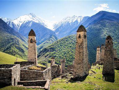 Горная Ингушетия — страна башен и легенд