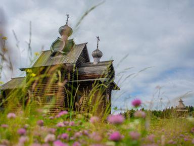 Шедевры деревянного зодчества в Хохловке