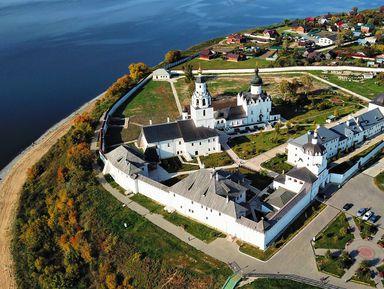 2в1: остров-град Свияжск и Голубые озёра