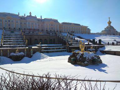 Зимние Петергоф иКронштадт наавтомобильной экскурсии