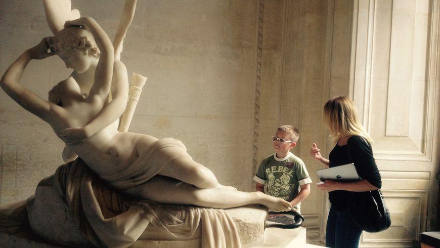 Экскурсия-квест по Лувру для детей