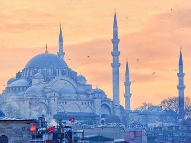 5 мечетей великих султанов Стамбула