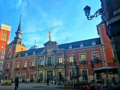 История Мадрида от арабов до Бурбонов